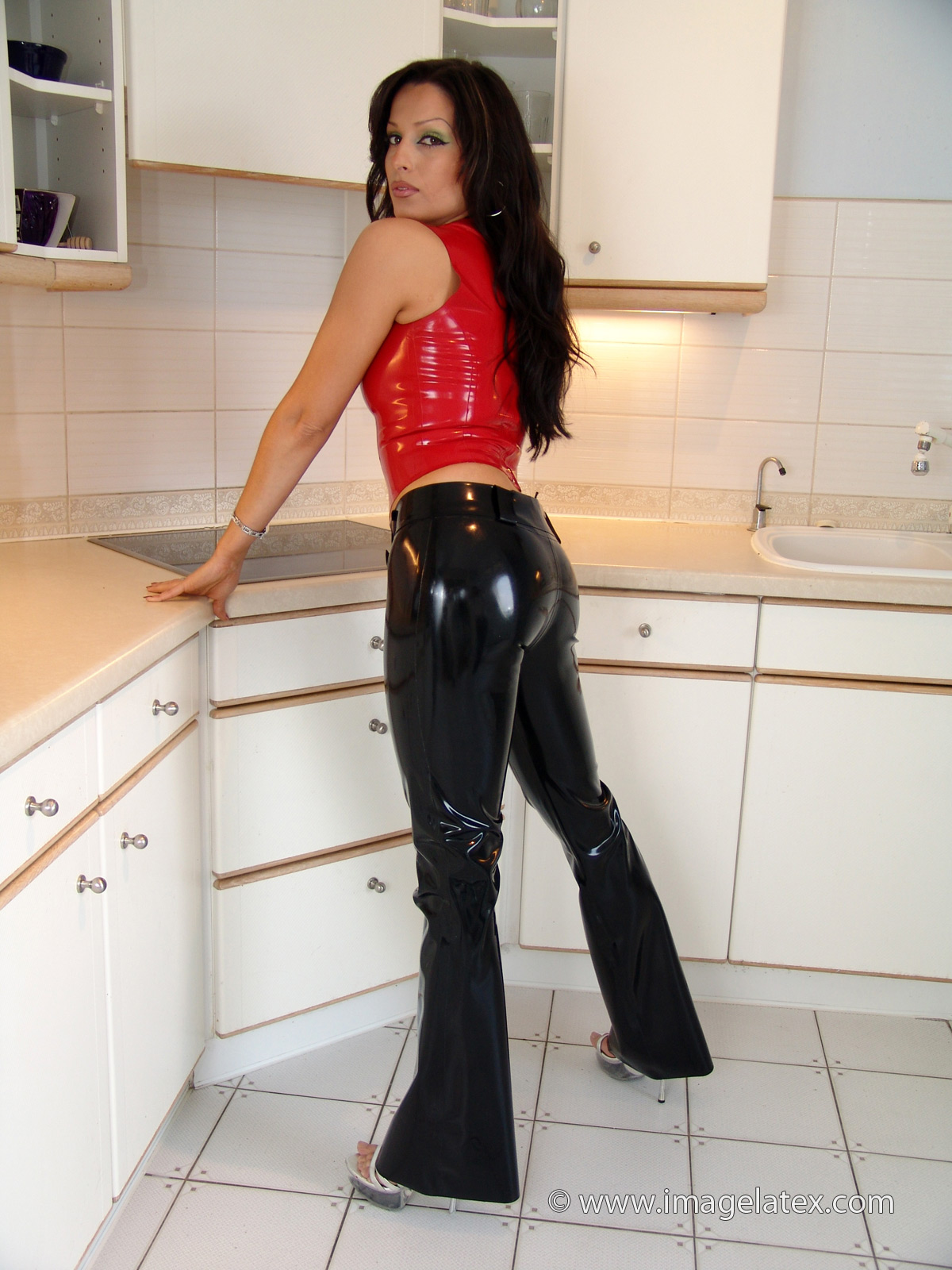Fetish girls shiny