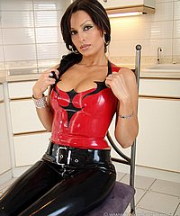 Latina Latex Girl Izabella